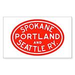 SP&S Rectangle Sticker 10 pk)