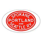 SP&S Oval Sticker (10 pk)