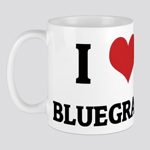 I Love Bluegrass Mug