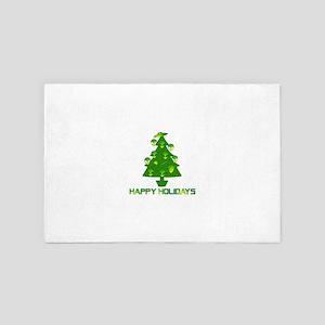 Alien Christmas Tree 4' x 6' Rug