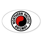 Northern Pacific Oval Sticker (50 pk)