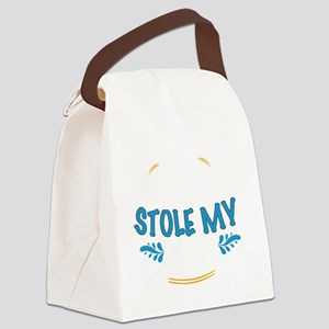 My Students Stole My Heart School Canvas Lunch Bag