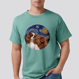 J-ORN-Starry-Two Cavaliers-BL+R T-Shirt