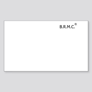 B.R.M.C. Sticker