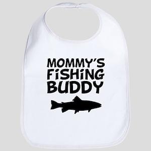 Mommys Fishing Buddy Baby Bib