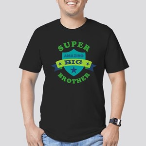 Super Amazing Big Brot Men's Fitted T-Shirt (dark)
