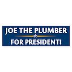 Joe the Plumber Bumper Sticker