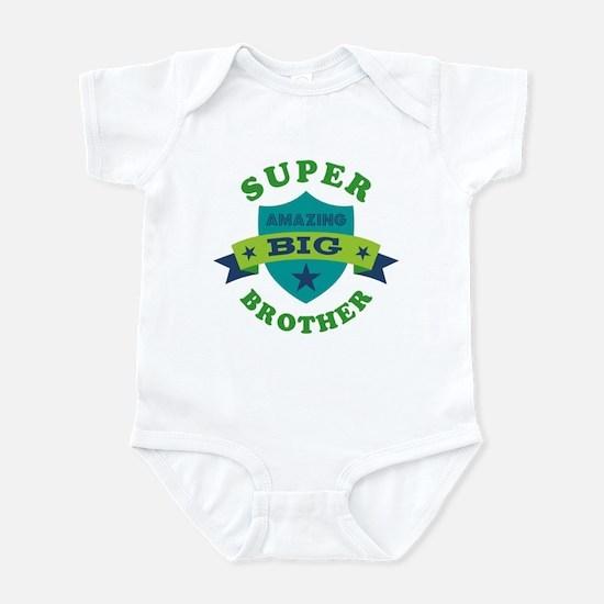 Super Amazing Big Brother Infant Bodysuit