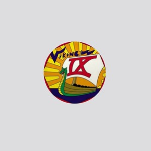 Viking IX Mini Button