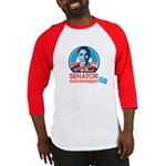 Obama is Senator Government Baseball Jersey