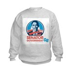 Obama is Senator Government Kids Sweatshirt