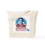 Obama is Senator Government Tote Bag