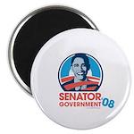 Obama is Senator Government Magnet
