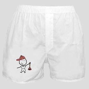 Boy & Plumber Boxer Shorts