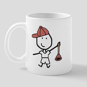 Boy & Plumber Mug