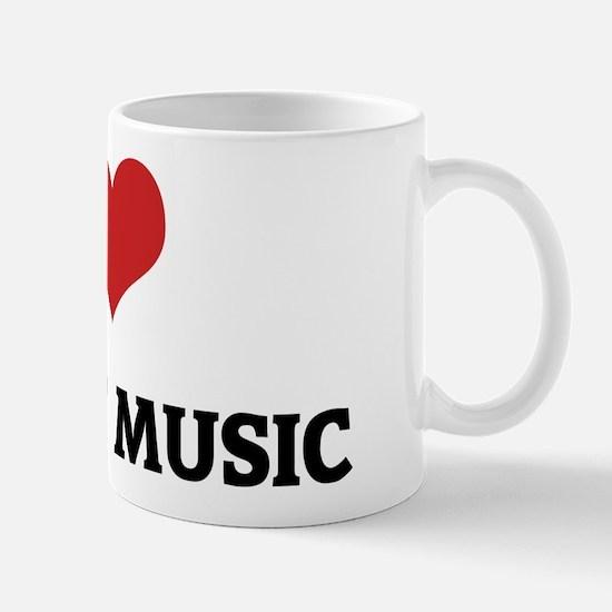 I Love Ambient Music Mug