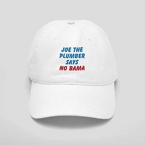 "Joe the Plumber Says ""NO BAMA"" Cap"