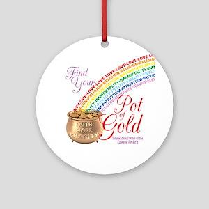 Rainbow Girls IORG Ornament (Round)