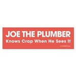 Joe the Plumber Bumper Sticker (10 pk)