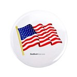 """American Flag"" 3.5"" Button (100)"