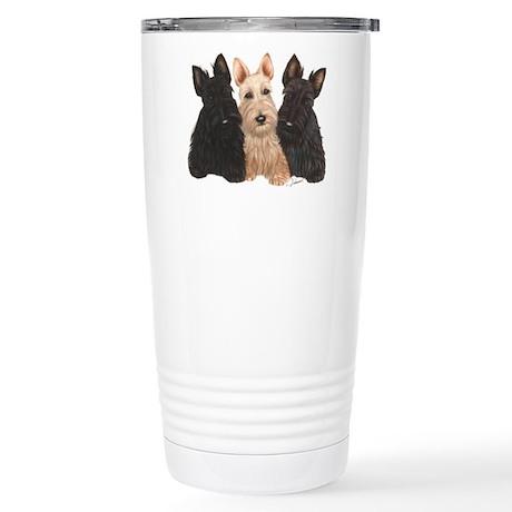 3 puppies Stainless Steel Travel Mug