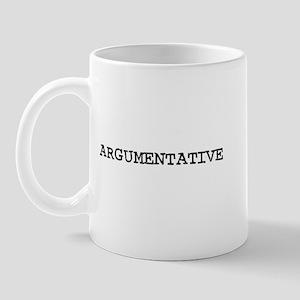 Argumentative Mug