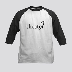 "Theatre Spelled ""re"" Kids Baseball Jersey"