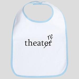 "Theatre Spelled ""re"" Bib"