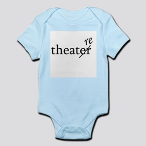 "Theatre Spelled ""re"" Infant Bodysuit"
