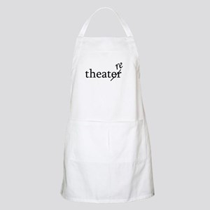 "Theatre Spelled ""re"" BBQ Apron"