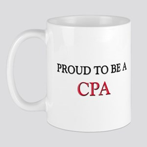 Proud to be a Cpa Mug