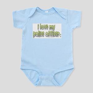 """""""COP BUFF SHOP"""" Infant Bodysuit"""