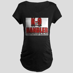 """K-9 HANDLER"" Maternity Dark T-Shirt"