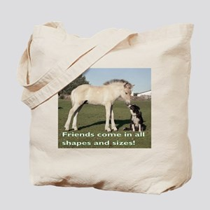 Fjord Horse Friends Tote Bag