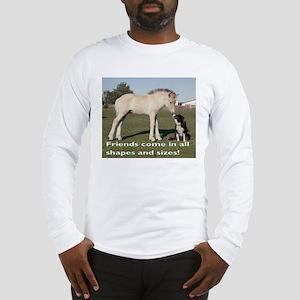 Fjord Horse Friends Long Sleeve T-Shirt