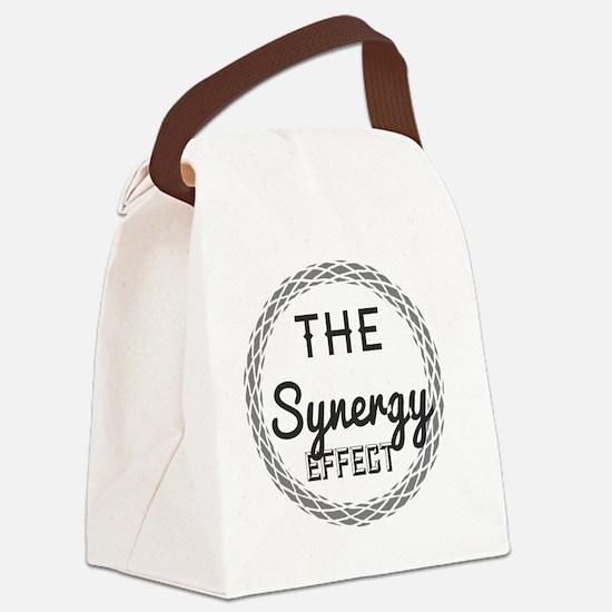Unique Businessman Canvas Lunch Bag
