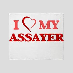I love my Assayer Throw Blanket