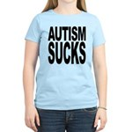 Autism Sucks Women's Light T-Shirt