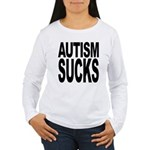 Autism Sucks Women's Long Sleeve T-Shirt