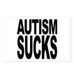 Autism Sucks Postcards (Package of 8)