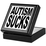 Autism Sucks Keepsake Box