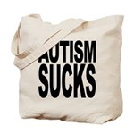 Autism Sucks Tote Bag