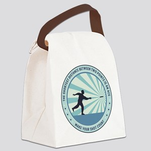 Make Your Shot Count Canvas Lunch Bag