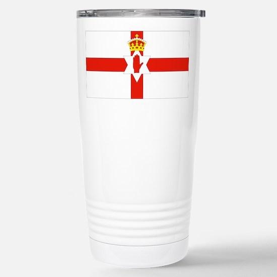 Northern Ireland Flag Stainless Steel Travel Mug