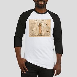 Da Vinci's Dachshund Baseball Jersey