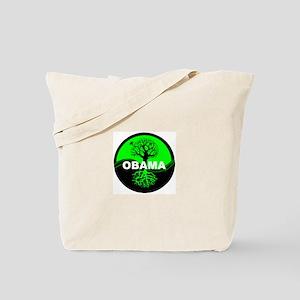 Go Green Obama Tote Bag