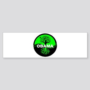 Go Green Obama Bumper Sticker