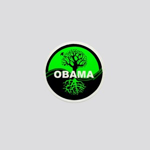 Go Green Obama Mini Button