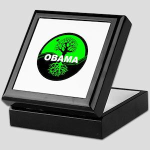 Go Green Obama Keepsake Box