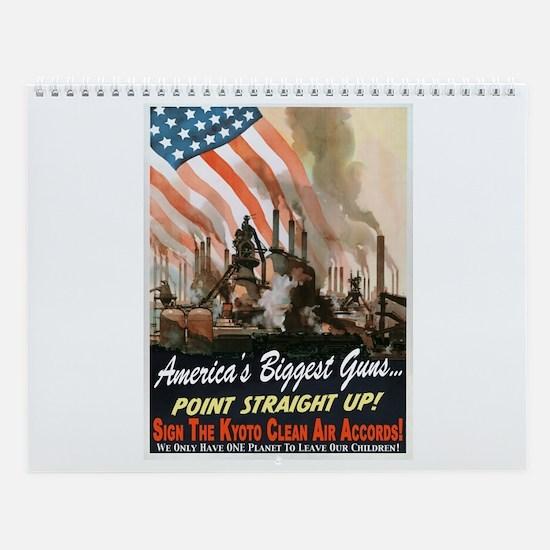 Environmental Propaganda Wall Calendar